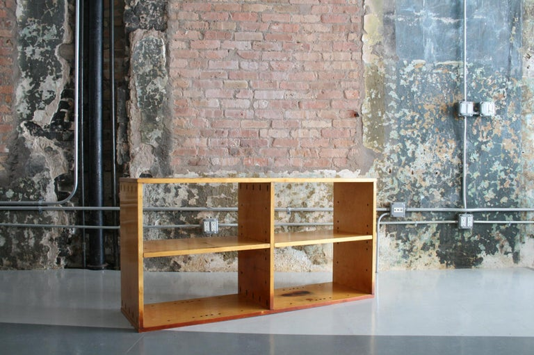 Finnish Original Birch Bookcase by Chicago Architect Harry Weese for Artek, 1948 For Sale