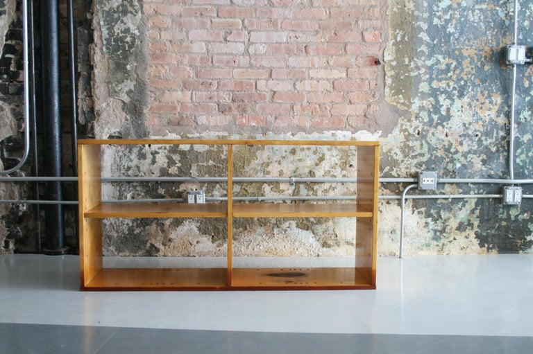 20th Century Original Birch Bookcase by Chicago Architect Harry Weese for Artek, 1948 For Sale