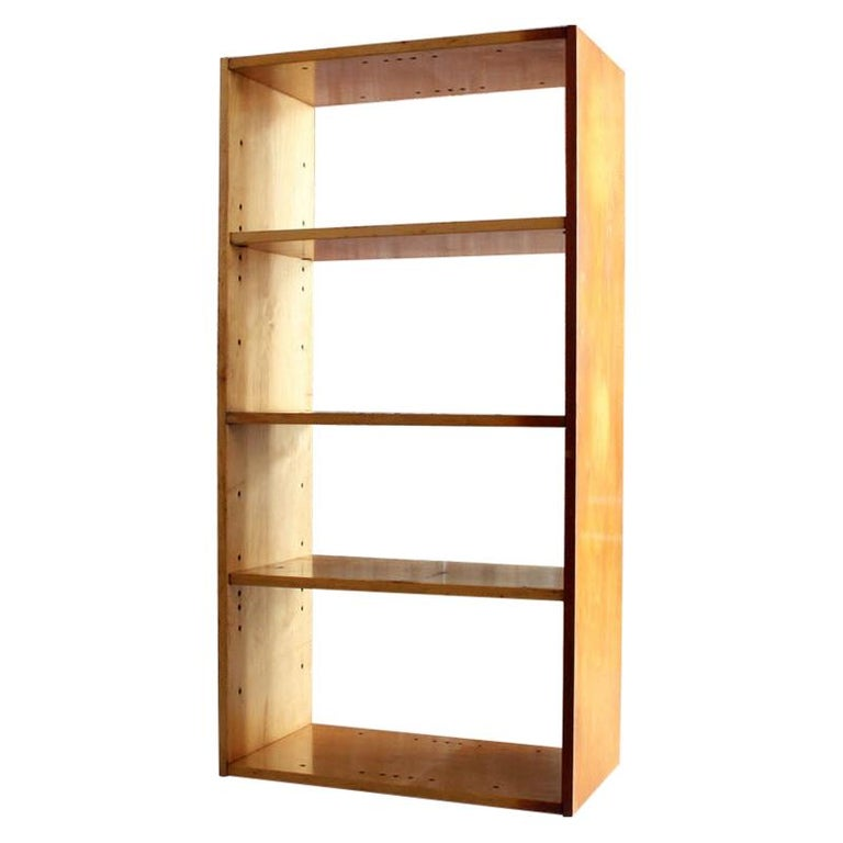 Original Birch Bookcase by Chicago Architect Harry Weese for Artek, 1948 For Sale