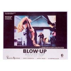 Original 'Blow-Up' film poster, 1966