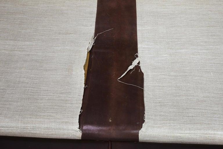 Original Borge Mogensen 2212 Sofa in Patinated Leather, Denmark, 1960s-1970s 1