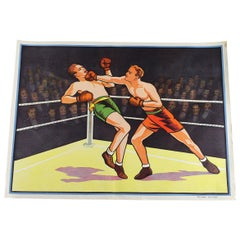 Original Boxing Poster, Willsons of Leicester, 20th Century