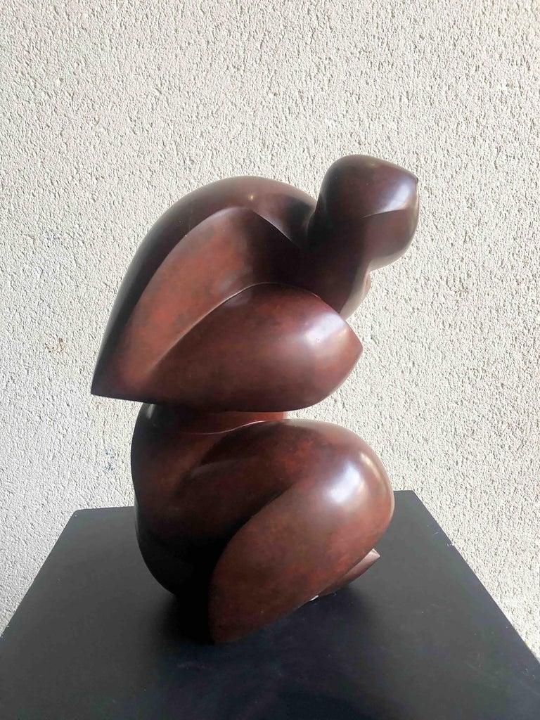 Original bronze sculpture by Dominique Pollès In New Condition For Sale In Paris, Ile de France