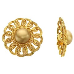 Original Chanel Vintage Ear Clips
