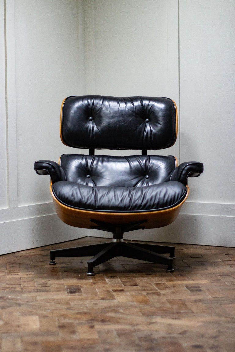 original charles and ray eames lounge chair by herman. Black Bedroom Furniture Sets. Home Design Ideas