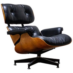Original Charles & Ray Eames Loungesessel von Herman Miller