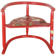 Original Children Armchair Chair 'Anna' by Karin Mobring 1963 for Ikea, Sweden