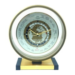 Original Citizen Table Clock in Metal, 1950s