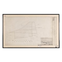 Original Concorde Design Drawing, England, c.1960