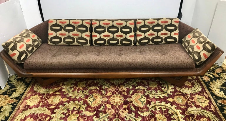 Craft Associates Adrian Pearsall Designed Famed Extra Large Gondola Sofa For Sale 1