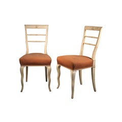 Original Dagobert Peche & Wiener Werkstaette Attributed Art Deco Chairs, 1920