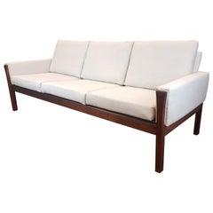 Original Danish 1960s Rosewood Sofa Designed by Hans J. Wegner