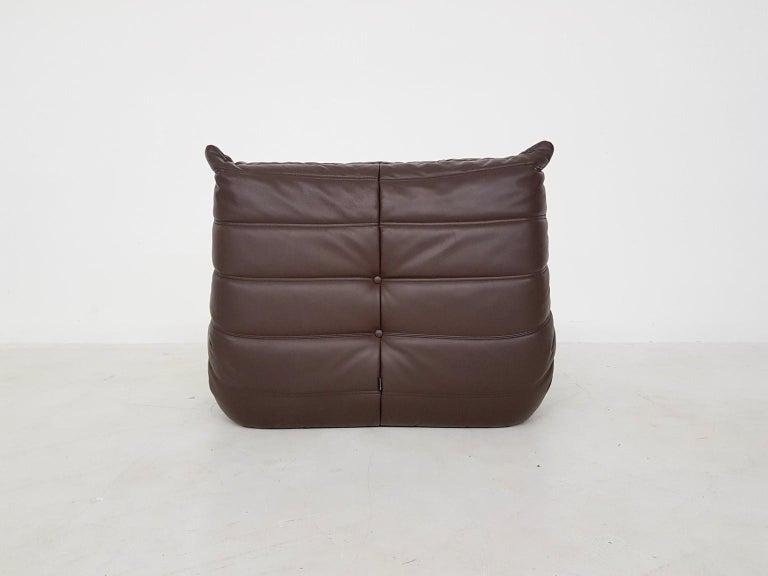 French Original Dark Brown Leather