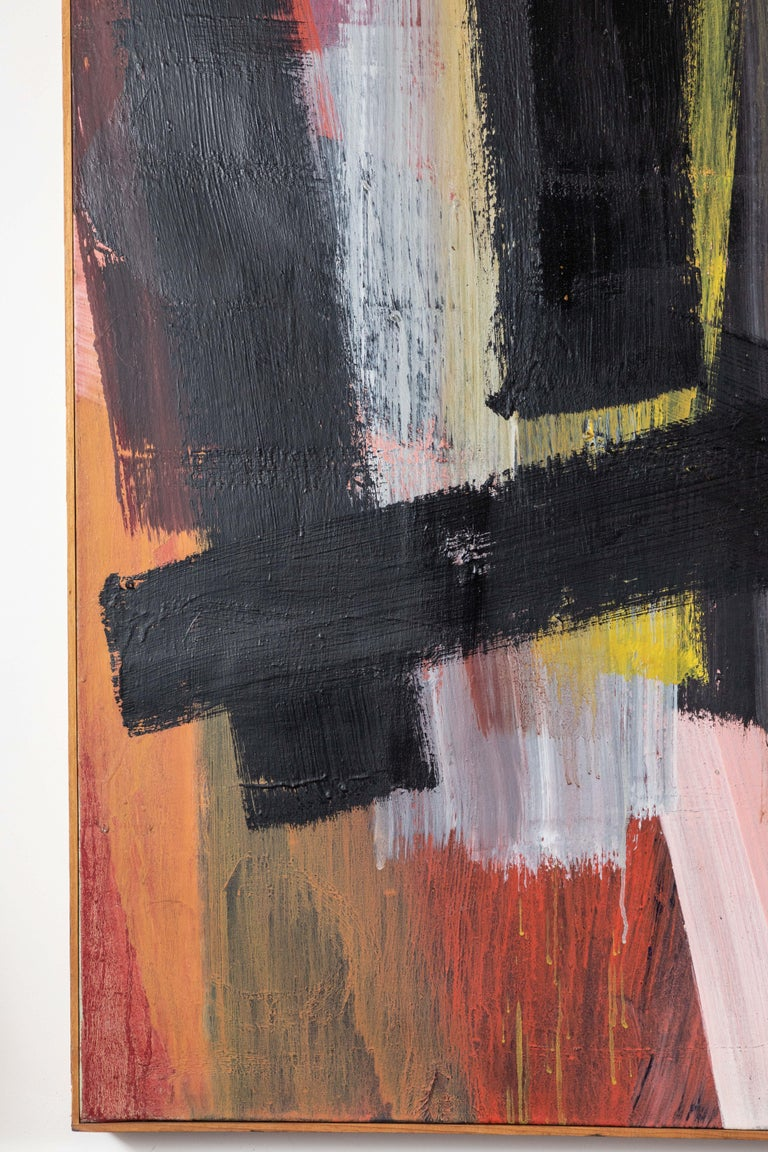 American Original, Abstract, 1963 Oil Painting For Sale