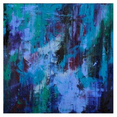 Original 'Departure into the Unknown' Abstract Painting by Amanda Rackowe