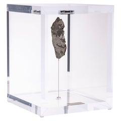 Original Design, Space Box, Campo del Cielo Meteorite in Acrylic Box