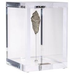 Original Design, Space Box, Gibeon Meteorite from Namibia in Acrylic Box