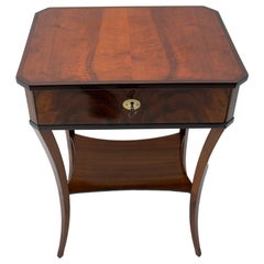 Original Early 19th Century Biedermeier sewing table, Austria-Hungary, 1830