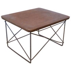 Original Early Series Mid-Century Modern LTR Side Table by Charles and Ray Eames