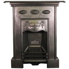 Original Edwardian Cast Iron Bedroom Fireplace