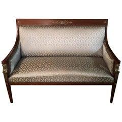 Original Empire Sofa circa 1860-1870 from an Empire Room
