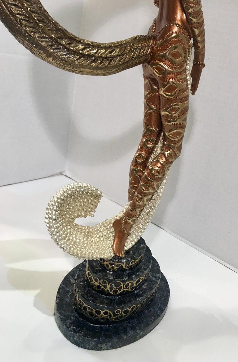 Original Erte Bronze