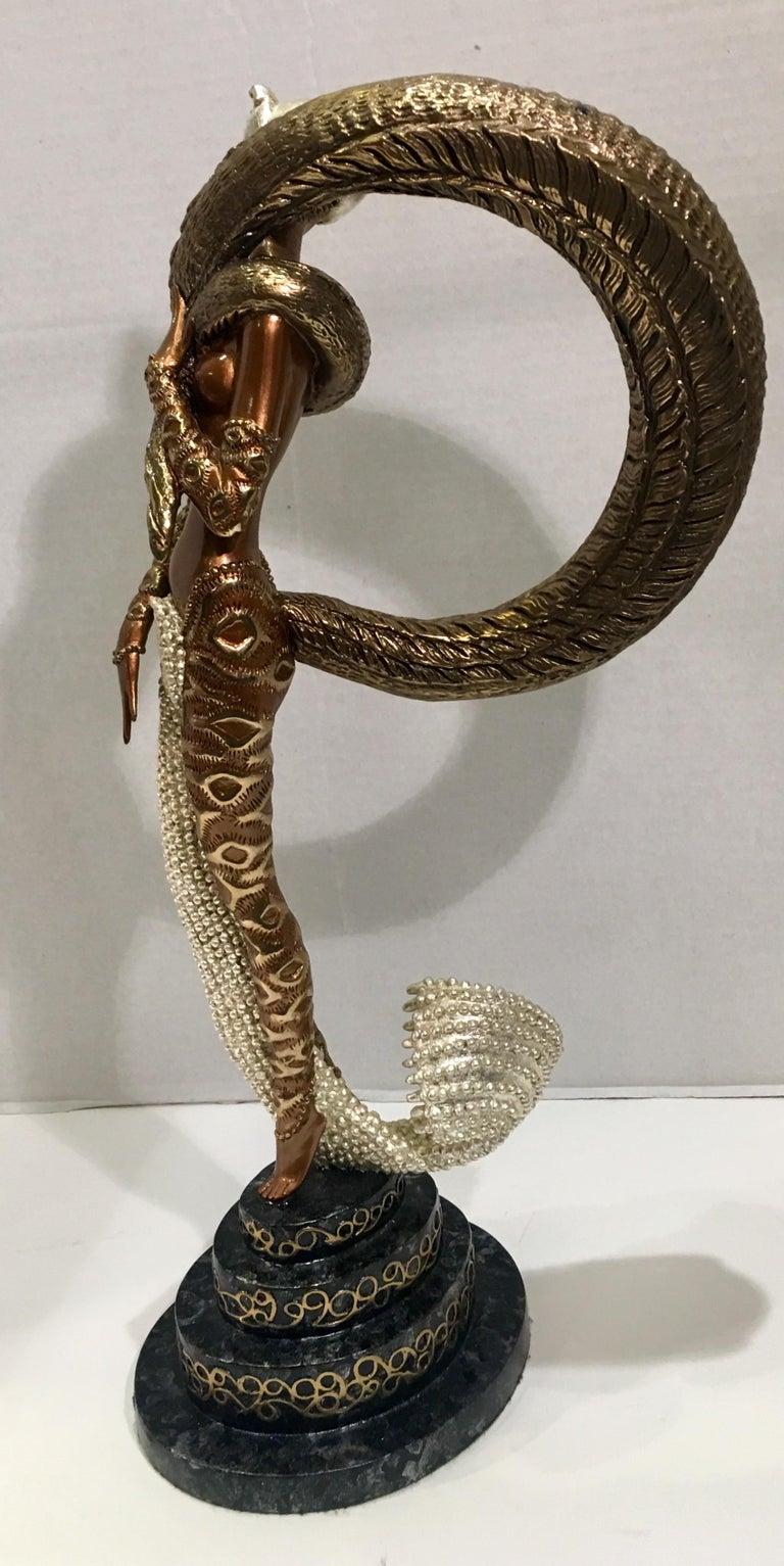 American Original Erte Bronze