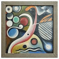 Original Eugéne De Sala Oil Painting, Modern Art