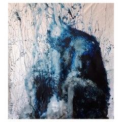 "Original ""Evanescence II"" Modern Abstract Painting by Artist Saul Gil Corona"