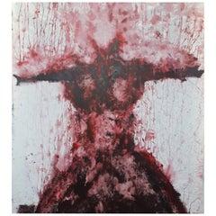 "Original  ""Evanescence III"" Modern Abstract Painting by Artist Saul Gil Corona"