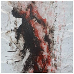 "Original ""Evanescence IV"" Modern Abstract Painting by Artist Saul Gil Corona"