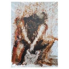 "Original ""Evanescence VII"" Modern Abstract Painting by Artist Saul Gil Corona"
