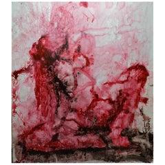 "Original ""Evanescence VIII"" Modern Abstract Painting by Artist Saul Gil Corona"