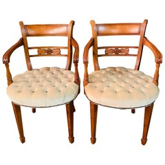 Original Exclusive Chesterfield Armchairs