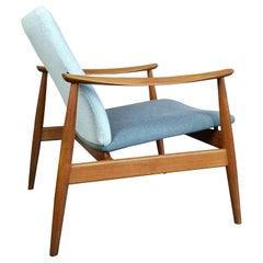 Original Finn Juhl FD138 Easy Lounge Chair for France and Son