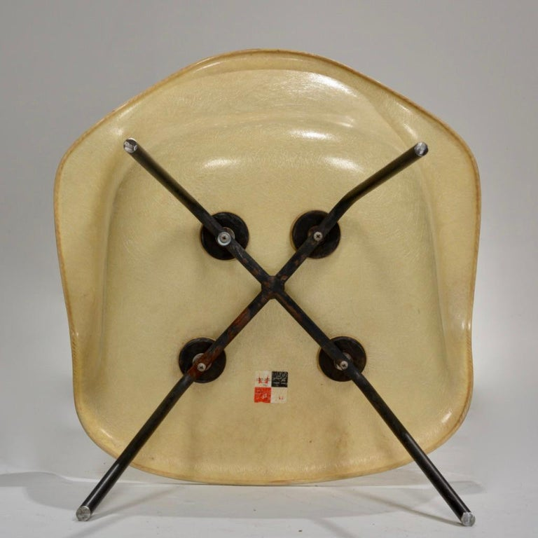 Original First Generation Eames Zenith Rope-Edge LAX Lounge Chair For Sale 1
