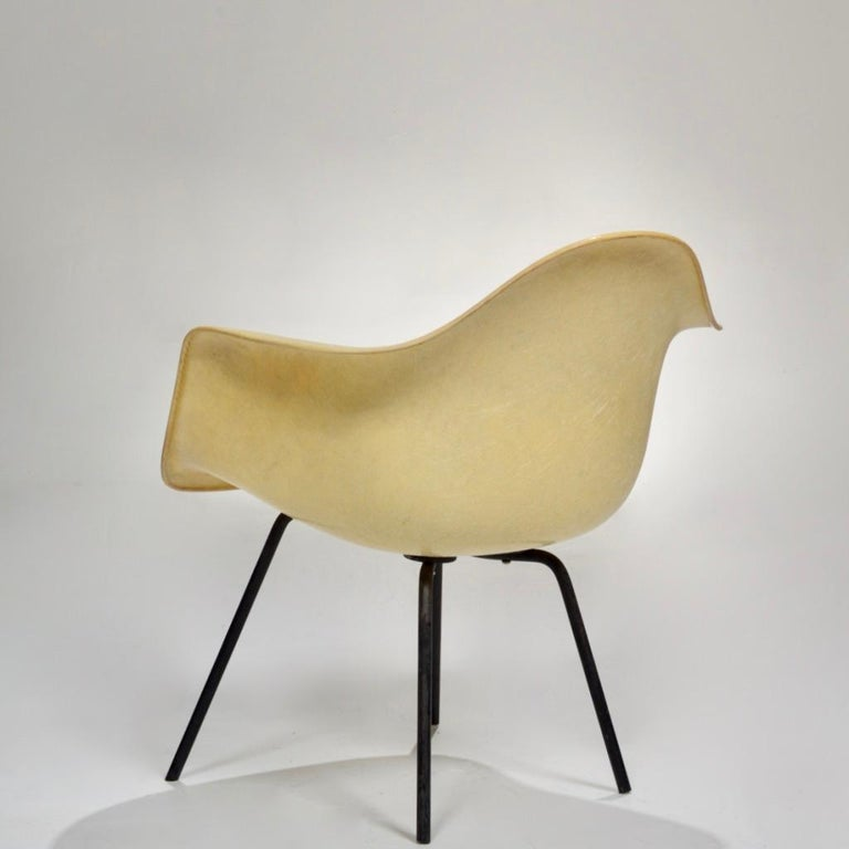 Original First Generation Eames Zenith Rope-Edge LAX Lounge Chair For Sale 2
