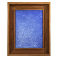 Original Framed Abstract Painting by Francisco Franco, Spain
