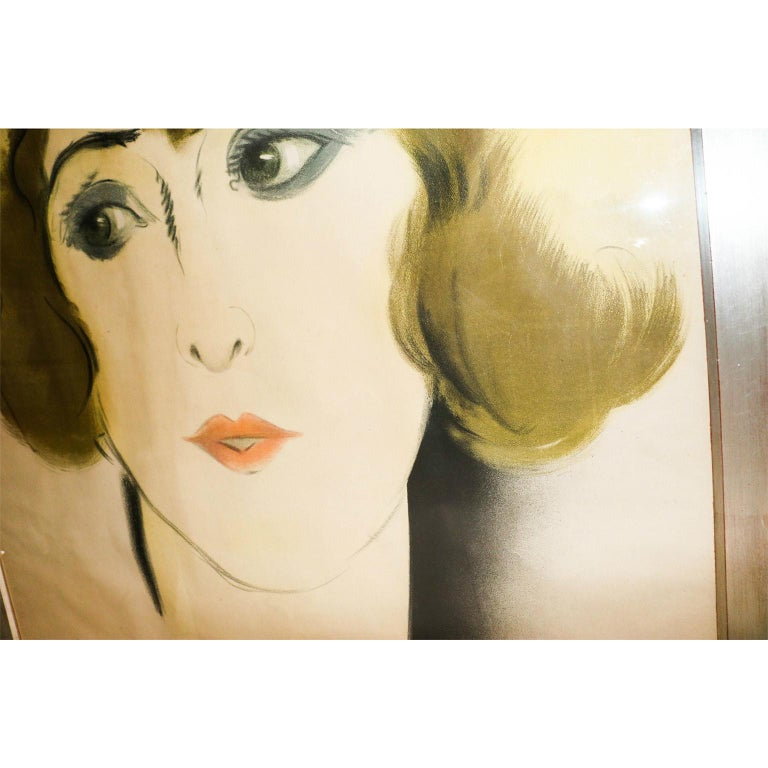 Original French Art Deco Period Poster by Paul Colin, 1928 In Good Condition For Sale In Baltimore, MD
