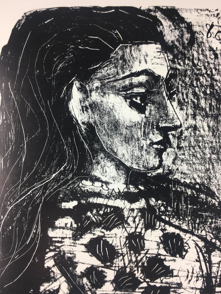 Original French Art Exhibition Poster, Picasso 2