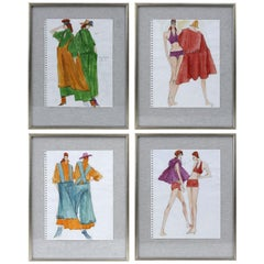 Original Gordon Henderson Fashion Sketches