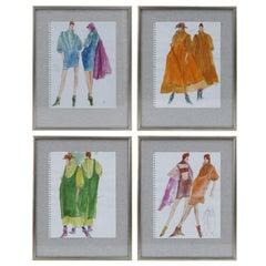 Original Gordon Henderson Fashion Sketches
