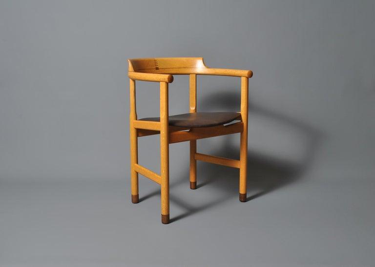 Danish Original Hans J Wegner PP52 Chair For Sale