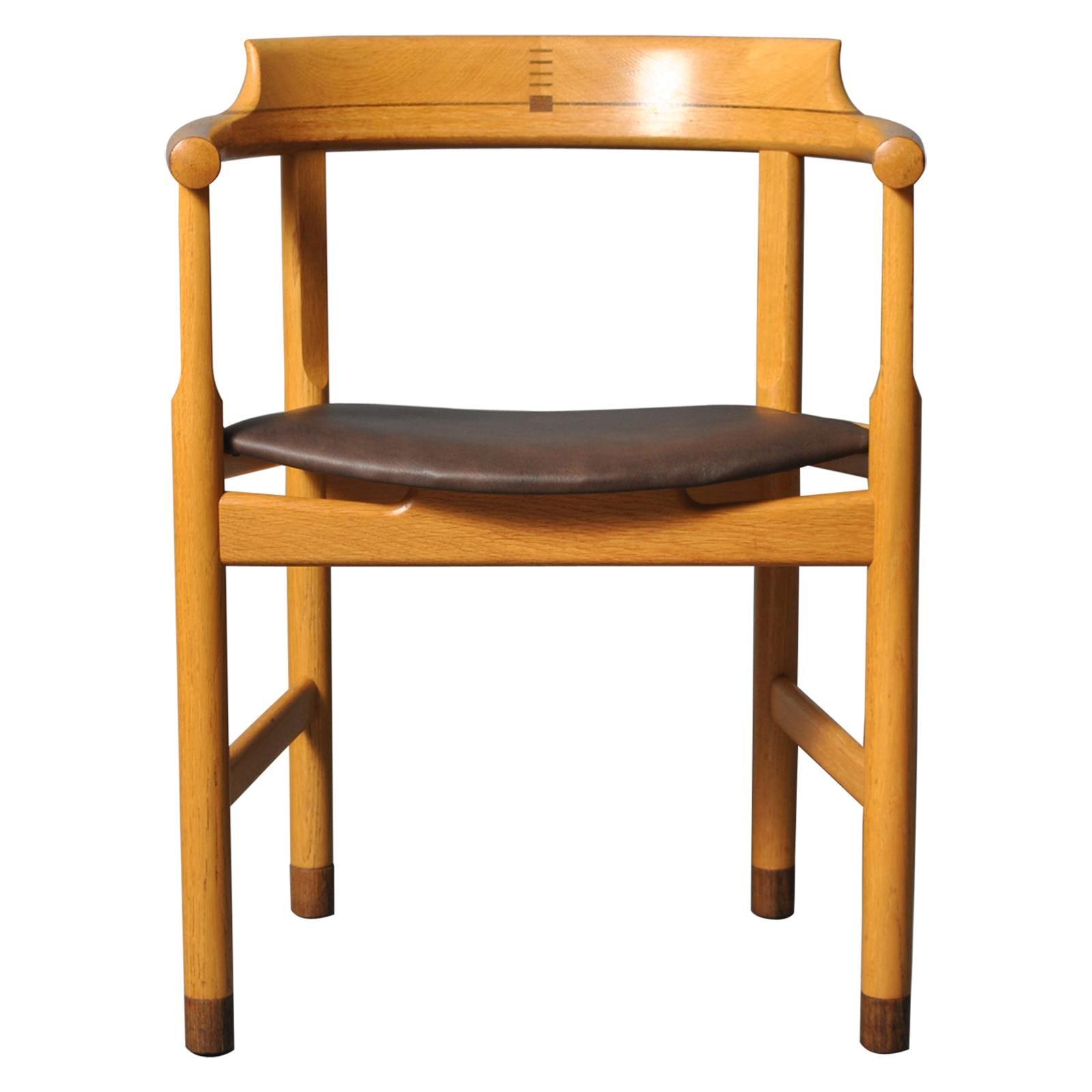 Original Hans J Wegner PP52 Chair