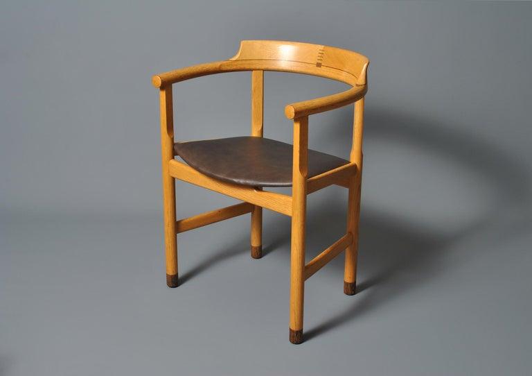 Original Hans J Wegner PP52 Chairs For Sale 1