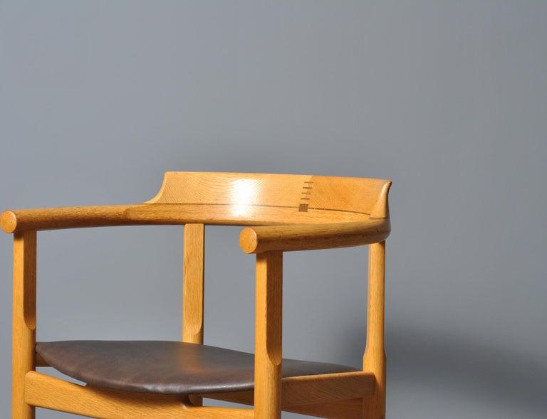 Original Hans J Wegner PP52 Chairs For Sale 2