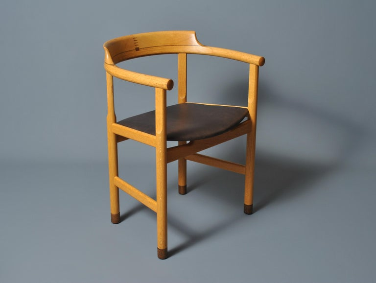Original Hans J Wegner PP52 Chairs For Sale 4