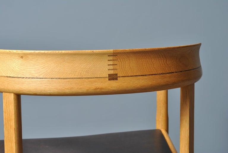 Original Hans J Wegner PP52 Chairs For Sale 6