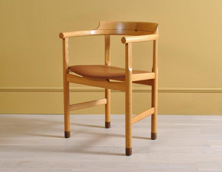 Danish Original Hans J Wegner PP52 Chairs