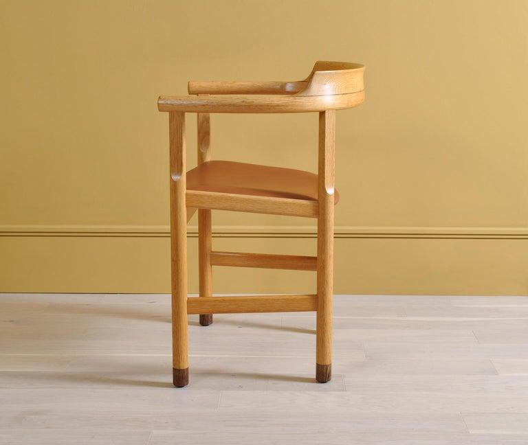 Original Hans J Wegner PP52 Chairs In Good Condition In London, GB